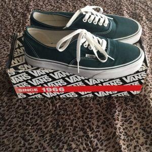 8357e547274 Vans Shoes - Vans Authentic - Darkest Spruce